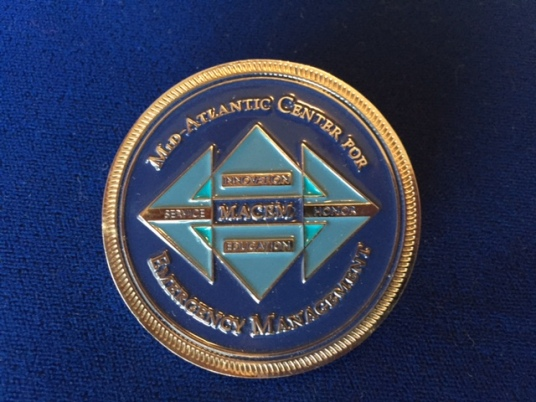 MACEM Challenge Coin - Front