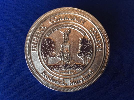 MACEM Challenge Coin - Back
